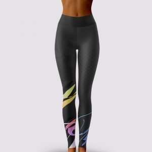 Milani Print Yoga Leggings