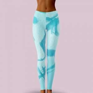 Never Satisfied Leggings by Sania Marie