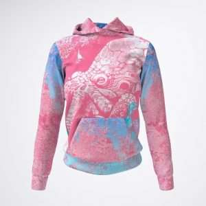 On Fire Hoodie by Sania Marie