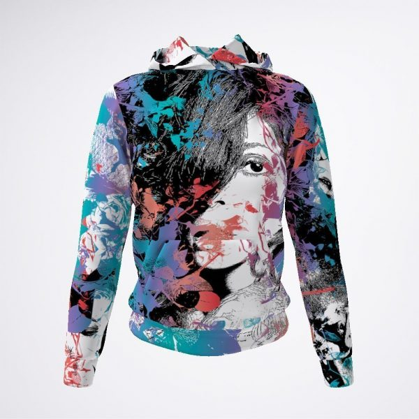 About Me Hoodie by Sania Marie
