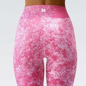 Pink Ice Leggings by Sania Marie