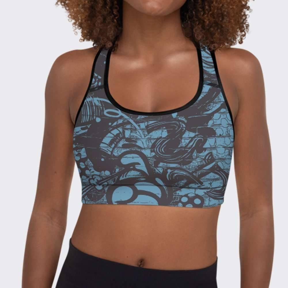 So Sure About You Sports Bra by Sania Marie