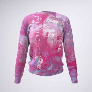 Pink Bubble Gum Sweatshirt Sania Marie