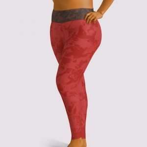 Sweet Marmalade Plus Leggings by Sania Marie