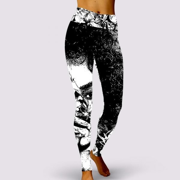No Over You Leggings by Sania Marie