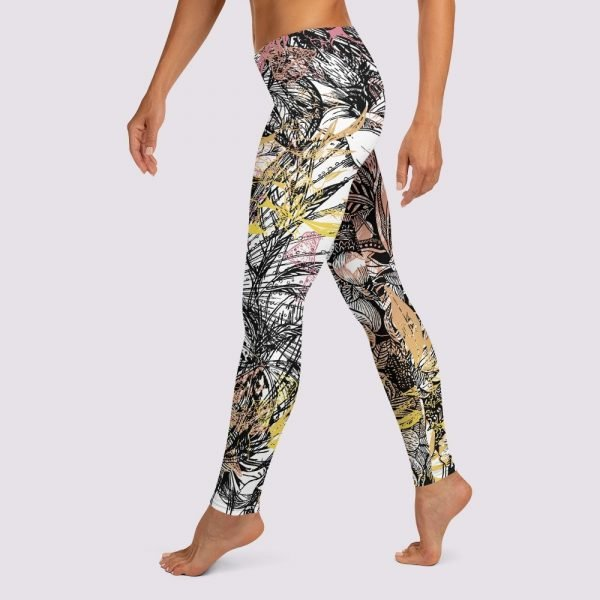In Love Leggings by Sania Marie