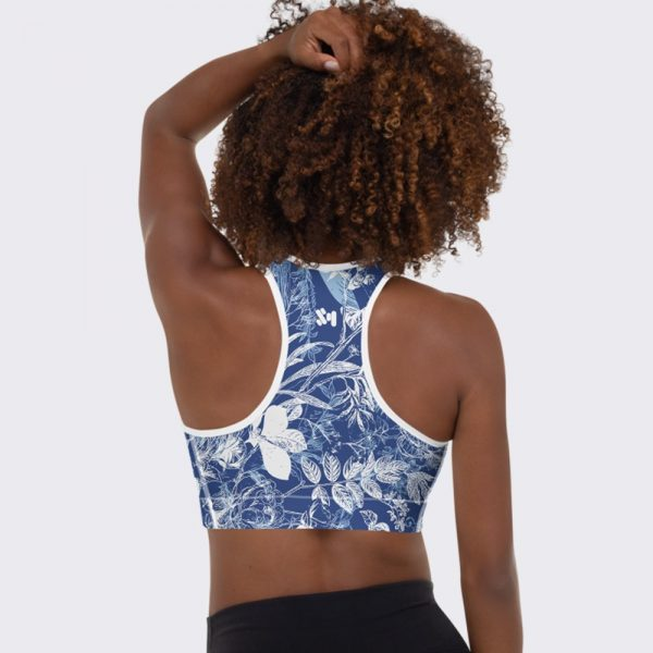 Drift Blue Sports Bra Sania Marie